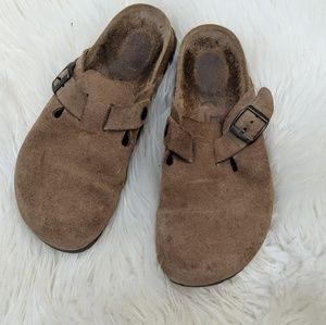 Birkenstock slip on clogs